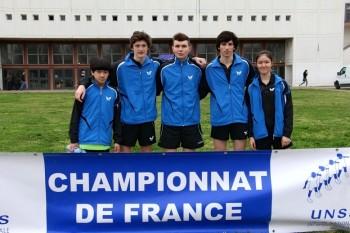 Unss tennis de table - Champion de france tennis de table ...